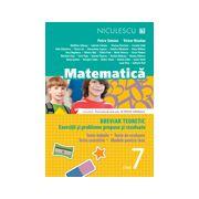 Matematică 2013 clasa a VII-a - Breviar teoretic cu exerciţii şi probleme propuse şi rezolvate -Teste iniţiale - Teste de evaluare - Teste sumative - Modele de teste