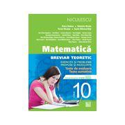 Matematică 2013 clasa a X-a - Breviar teoretic cu exerciţii şi probleme propuse şi rezolvate - teste de evaluare - teste sumative