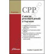Codul de procedura penala si 5 legi uzuale - actualizat 11 septembrie 2013