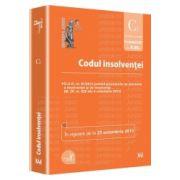 Codul insolventei - In vigoare de la 25 octombrie 2013 (O.U.G. nr. 91/2013 privind procedurile de prevenire a insolventei si de insolventă – M. Of. nr. 620 din 4 octombrie 2013)
