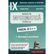 Manual de INFORMATICĂ, clasa a IX-a, profilul real