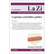 Legislatia achizitiilor publice - Actualizat la 25.09.2013