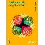 Dicţionarul critic al psihanalizei