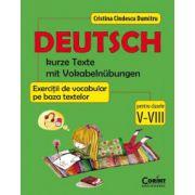 Limba germana - Exercitii de vocabular pe baza textelor