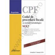 Codul de procedura fiscala cu normele metodologice - actualizat 15 ianuarie 2014