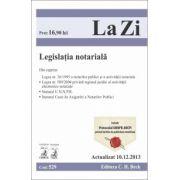 Legislatie notariala. Actualizat la 10.12.2013