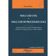 Noul Cod civil. Noul Cod de procedura civila - actualizat 24 ianuarie 2014 cu legea de punere in aplicare, reglementarea anterioara, legislatie conexa, index alfabetic