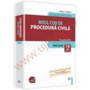 Noul Cod de procedura civila.