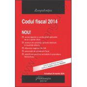 Codul fiscal 2014 - actualizat 24 martie 2014