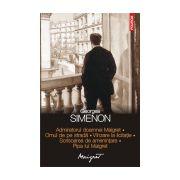 Admiratorul doamnei Maigret • Omul de pe strada • Vinzare la licitatie • Scrisoarea de amenintare • Pipa lui Maigret