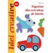 Figurine din cerculeţe de hârtie - Idei creative 94