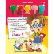 Teste. Evaluare sumativă. Concursuri Școlare. Clasa I