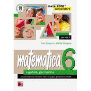 Mate 2014 - 2015 Consolidare - ALGEBRA, GEOMETRIE. CLASA A VI-A. PARTEA I