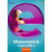 Matematică clasa a VIII-a. Partea II (esențial)