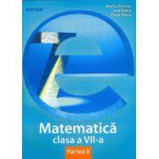 Matematică clasa a VII-a. Partea II (esențial)