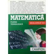 Matematica bacalaureat 2015 - filiera tehnologica. Exercitii recapitulative. Teste