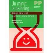 Un minut la psiholog