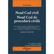 Noul Cod civil. Noul Cod de procedura civila - actualizat 12 noiembrie 2014