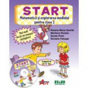 START. Matematica si explorarea mediului pentru clasa I. Semestrul al II-leaa