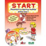 START. Matematica si explorarea mediului pentru clasa I. Semestrul I