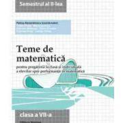 Teme de matematică. Clasa a VII a sem.2-2014