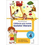 Călătorie prin lumea textelor literare din manualul de limba română pentru clasa a IV-a - După Manual de limba română de Marcela Peneş