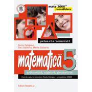 MATEMATICA. ARITMETICA, ALGEBRA, GEOMETRIE. CLASA A V-A. CONSOLIDARE. PARTEA A II-A, SEMESTRUL 2