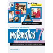 MATEMATICA. ALGEBRA, GEOMETRIE. CLASA A VII-A. CONSOLIDARE. PARTEA A II-A, SEMESTRUL 2pa