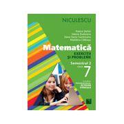 Matematică. Exerciţii şi probleme pentru clasa a VII-a, semestrul II Matematică. Exerciţii şi probleme pentru clasa a VII-a, semestrul II
