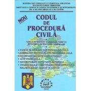 Codul de procedura civila 2015. Tabla de materii si index alfabetic