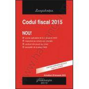 Codul fiscal 2015 - actualizat 29 ianuarie 2015 - (M. Of. nr. 74 din 28 ianuarie 2015).