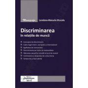 Discriminarea in relatiile de munca