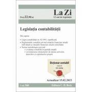 Legislatia contabilitatii. Actualizat la 15. 02. 2015