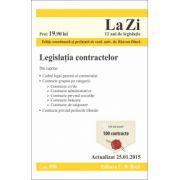 Legislatia contractelor. Actualizat la 25.01.2015