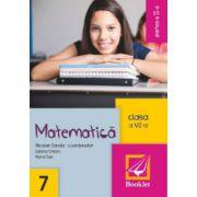 Matematica pentru clasa a VII-a - Partea a II-a