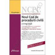 Noul Cod de procedura civila si 12 legi uzuale - actualizat la 29 ianuarie 2015