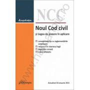 Noul Cod civil si Legea de punere in aplicare – actualizat 26 ianuarie 2015