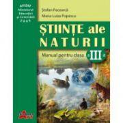 Ştiinţe ale naturii. Manual pentru clasa a III-a