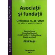Asociatii si fundatii - Sponsorizarea, donatia si legatul, scutiri conform Codului fiscal, legea sportului 2015