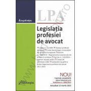 Legislatia profesiei de avocat, actualizata 12 martie 2015