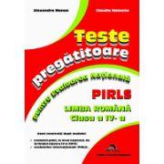 Teste pregatitoare pentru Evaluarea Nationala - PIRLS- Limba romana cls a IV-a