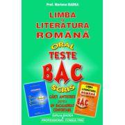 Bacalaureat 2015 Oral si Scris - Teste. Limba si literatura romana. Carti Antistres pentru un Bacalaureat Confortabil