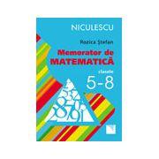 Memorator de matematică clasele 5-8