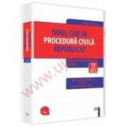 Noul Cod de procedura civila republicat Legislatie consolidata si INDEX: 15 aprilie 2015