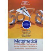 Matematica 2016 - Evaluarea nationala pentru absolventii clasei a VIII-a - Teme, probleme si teste de verificare (Clubul matematicienilor) - Marius Perianu