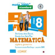 MATEMATICA. ALGEBRA, GEOMETRIE. CLASA A VIII-A- MATE 2000 STANDARD