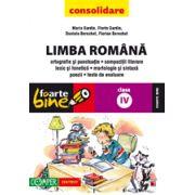 LIMBA ROMANA - CONSOLIDARE. CLASA A IV-A