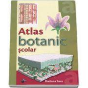 Atlas botanic scolar - Ilustratii color (Daciana Sava)