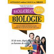 BACALAUREAT 2016. ANATOMIE SI FIZIOLOGIE, GENETICA SI ECOLOGIE UMANA. CLASELE XI-XII