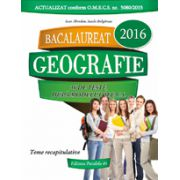 BACALAUREAT 2016. GEOGRAFIE. 36 DE TESTE, DUPA MODELUL M. E. C. S.